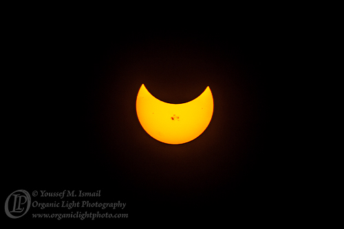 Partial Solar Eclipse of October 23rd, 2014