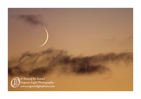 Crescent Moon of Ramadan 1431